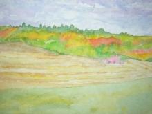 Fall Harvest-Original Watercolour-12 x9