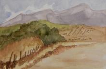 Somewhere in-Spain-Original Watercolour-7x5